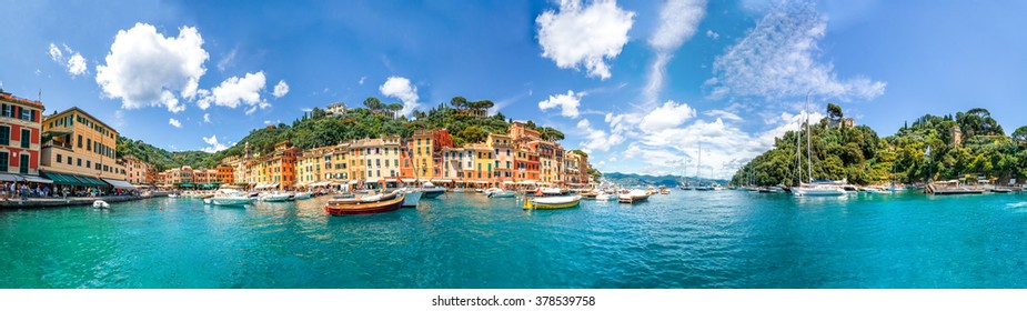 Panorama, Portofino, Italy