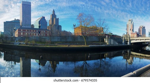A Panorama of the Providence city center
