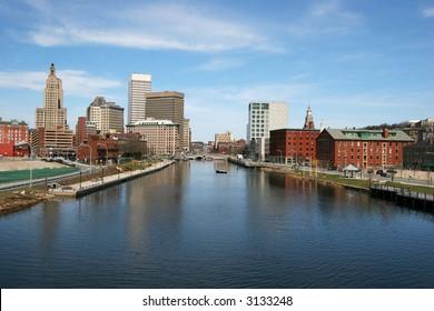 panorama of Providence, RI