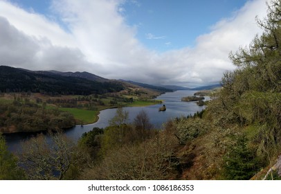 Panorama of Queen's View, Loch Tummel