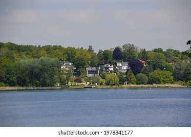 Panorama at the River Havel, Island Pfaueninsel, Wannsee, Zehlendorf, Berlin