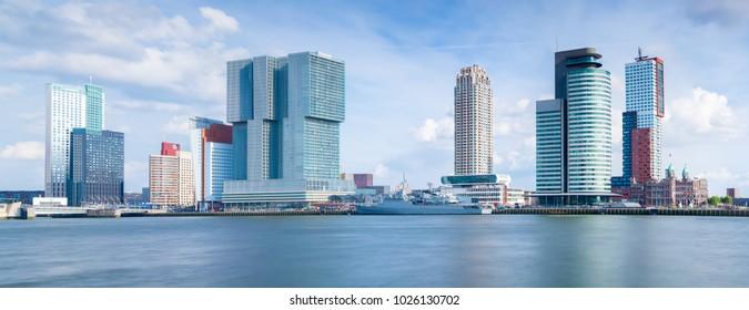 Panorama Rotterdam daytime