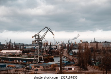 Panorama of the Gdańsk Shipyard