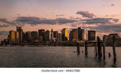 Panorama shot of Boston
