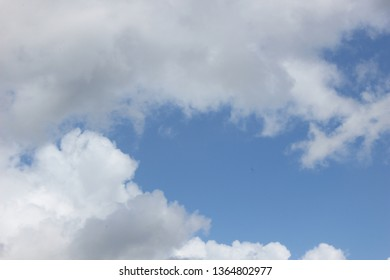 Panorama Sky and Cloud in Summer time  in Indonesia