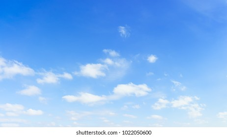 Panorama sky and clouds background. Panoramic composition in high resolution.