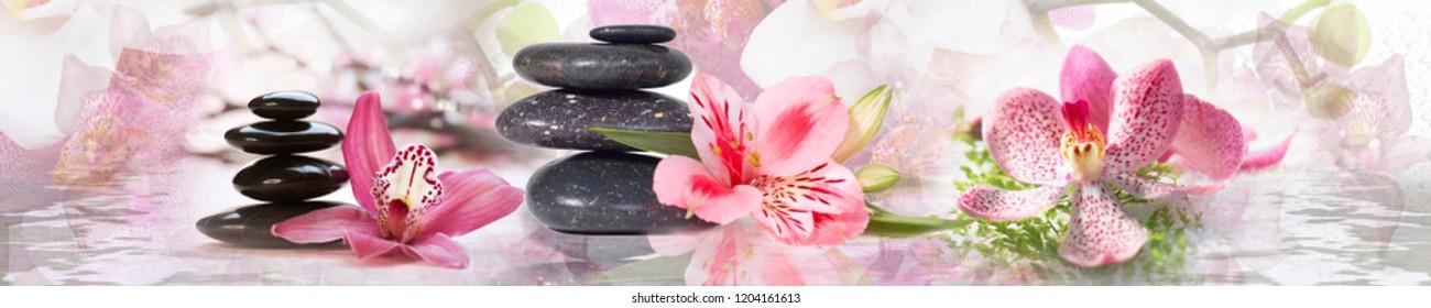 panorama spa flowers
