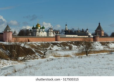 Panorama of the Spaso-Evfimiev monastery in Suzdal