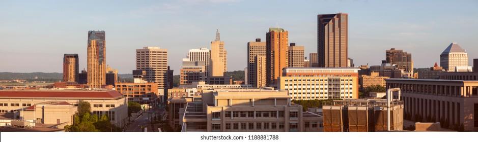 Panorama of St. Paul. St. Paul, Minnesota, USA.