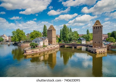 Panorama of Strasbourg, Alsace, France