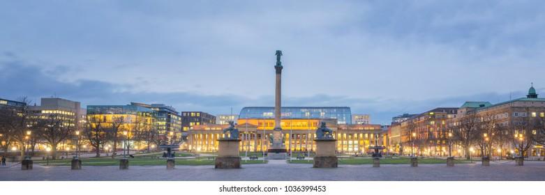 Panorama Stuttgart, Germany