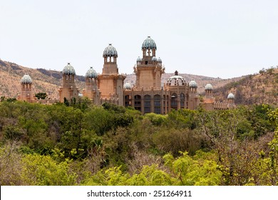 panorama of Sun City, The Palace of Lost City, Luxury Resort in South Africa