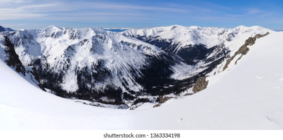 Panorama to the Tatra Mountains from Kasprowy Wierch