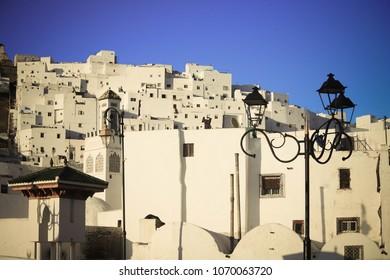 Panorama of tetouan medina near tangier