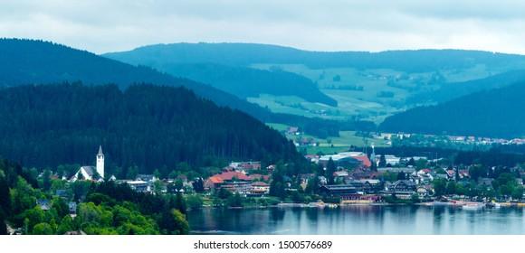 Panorama Titiseeneustadt Black Forest Germany Stock Photo Edit Now 1500576689