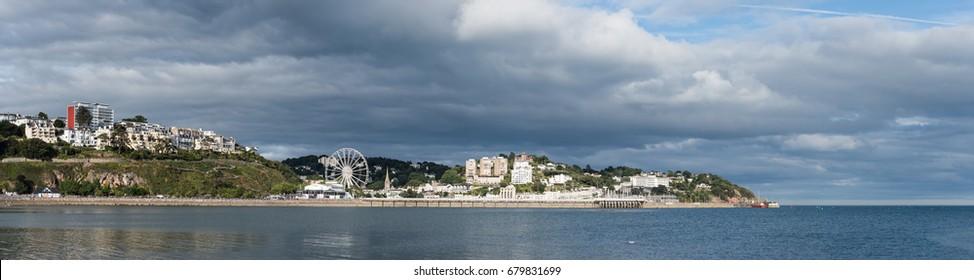 Panorama of the Torquay - Torquay, Torbay, Devon, England