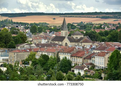 Panorama at the town of Verdun, France