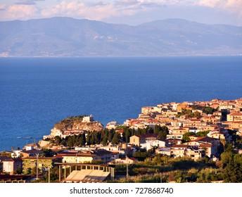 panorama of Tropea Italy