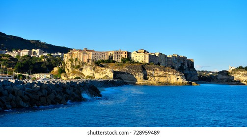 panorama of Tropea Italy