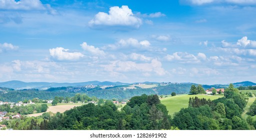 Panorama in Upper Austria