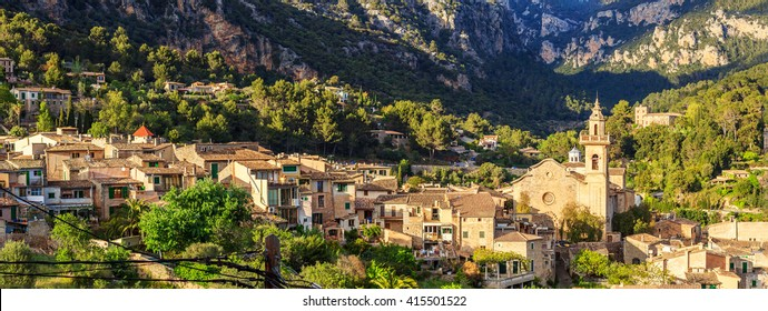 Panorama of Valldemossa, Mallorca