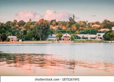 Panorama of Vanuatu. Port Vila, Vanuatu. - Shutterstock ID 1875267691