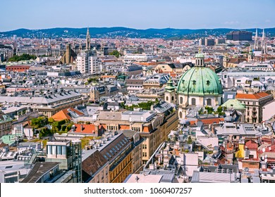 Panorama of Vienna, Austria