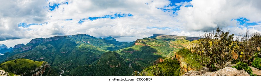 Panorama View of the Blyde River Canyon, South Africa