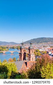 Panorama view of the city of Miltenberg in Lower Franconia, Bavaria