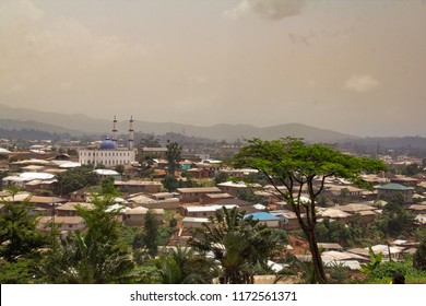 A panorama view of downtown Bamenda, capital of the Northwest region of Cameroon.