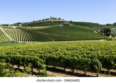 panorama view nature of Abruzzo, Italy