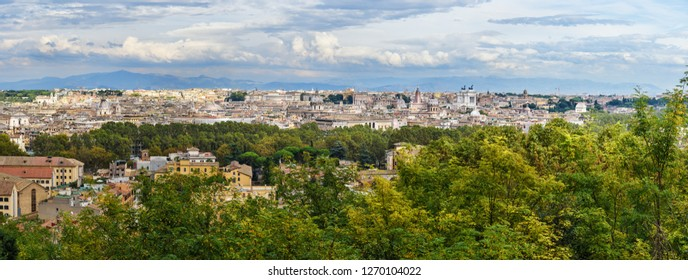 Imágenes Fotos De Stock Y Vectores Sobre Rome Panorama