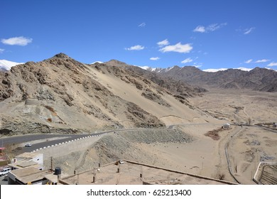 Panorama views on the mountains.