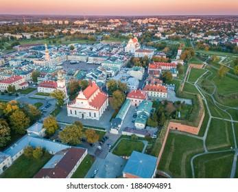 Panorama of Zamosc. Zamosc, Lublin, Poland. - Shutterstock ID 1884094891