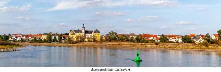 Panoramaphoto of Coswig in Sachsen-Anhalt, Germany