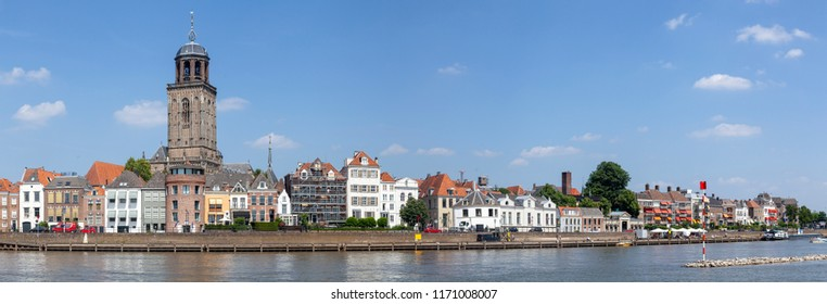 Panoramaphoto of Deventer with Lebuinus church