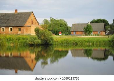 panoramas of Belarusian villages