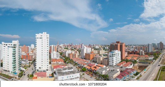 Panoramic of Barranquilla Colombia