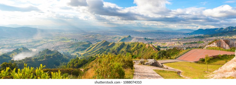 panoramic of Bogota Colombia