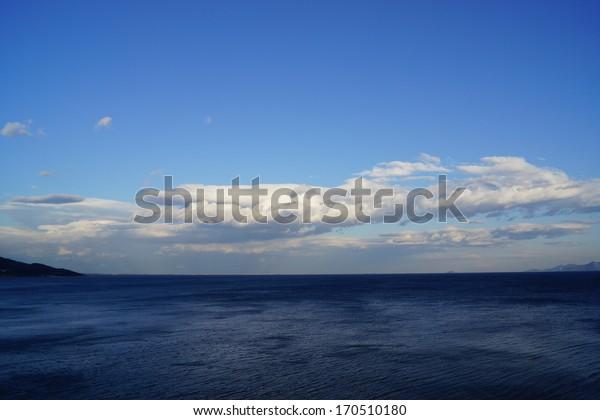 panoramic clouds