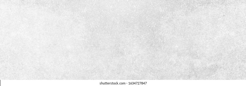 Panoramic grey paint brush limestone texture background in seamless white light wall japanese paper. Back seaming flat wide concrete stone table floor concept granite quarry stucco surface grunge wide