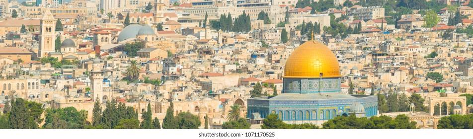 panoramic of Jerusalem