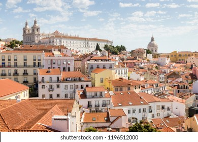 Panoramic of Lisbon