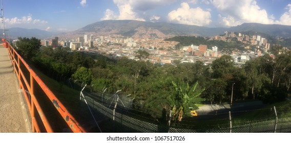 Panoramic in Medellin Colombia