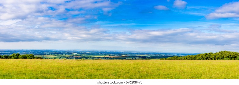 Panoramic Picture of the South Somerset Countryside UK