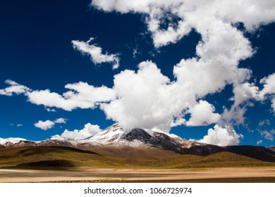 Panoramic sight in Atacama