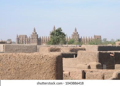 Panoramic view of Djennè