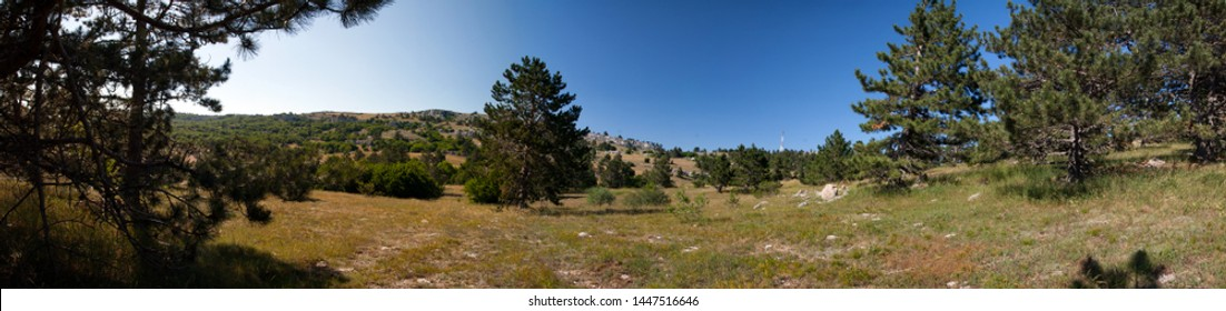 Panoramic view of Ai-Petri, Crimea