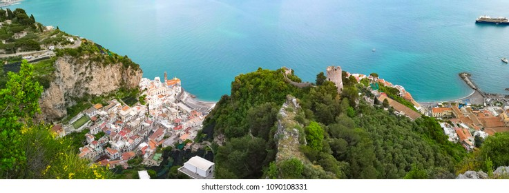 panoramic view amalfi