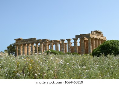 Panoramic view of the archaeological area of Agrigento 020